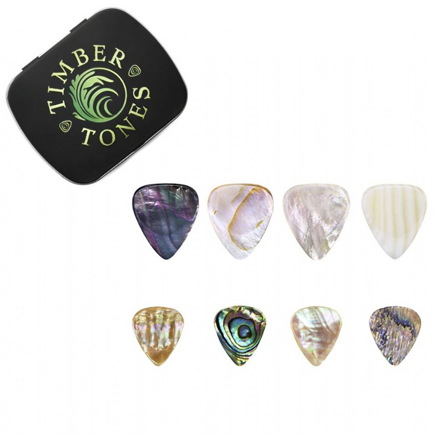 Shell Guitar Pick Collection | Timber Tones